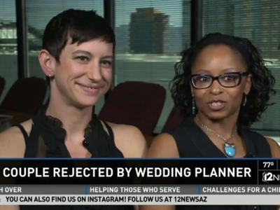 lgbt couple got refused by wedding venue