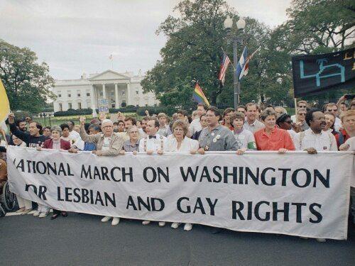 LGBT pride parade in 1979