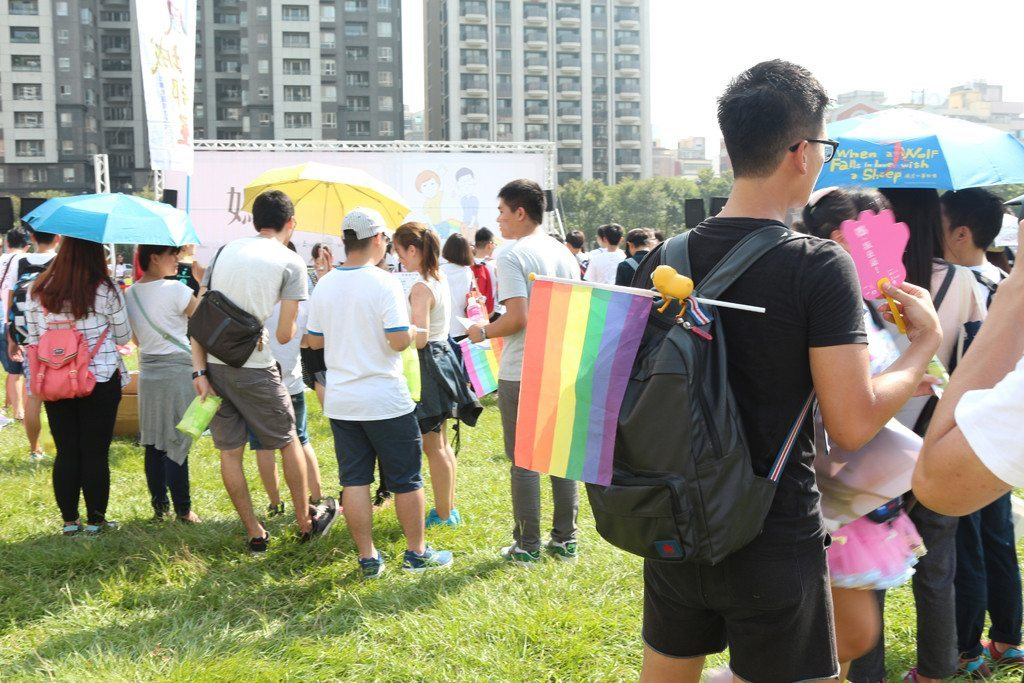 Taichung LGBT Pride meeting place