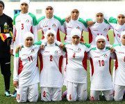 Iranian Women Football Players