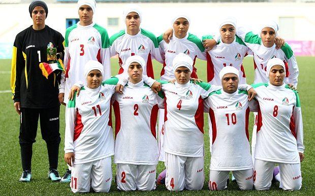 Iranian Women Football Players