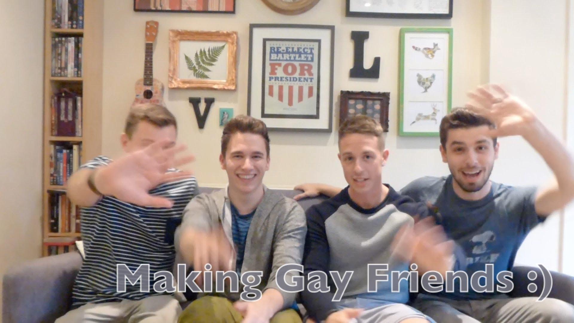 making gay friends