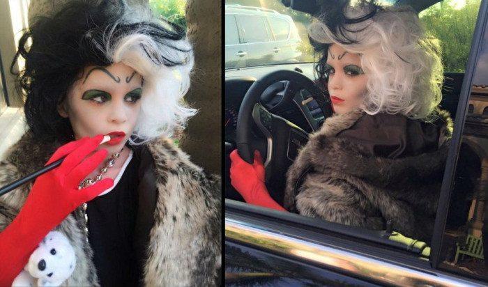 Cruella-costume