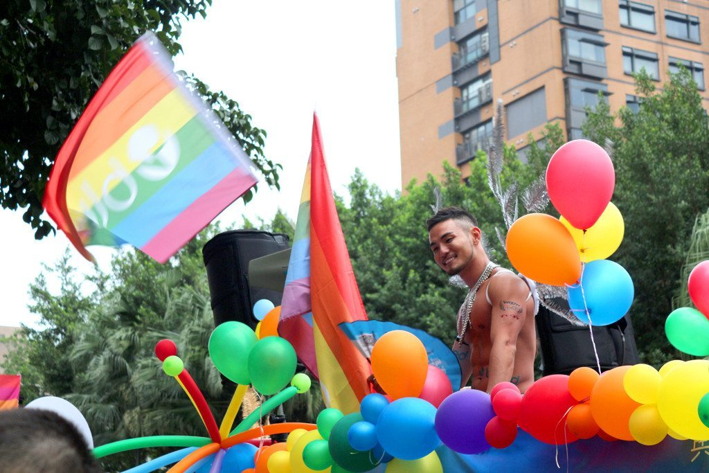 taiwan lgbt pride handsome man