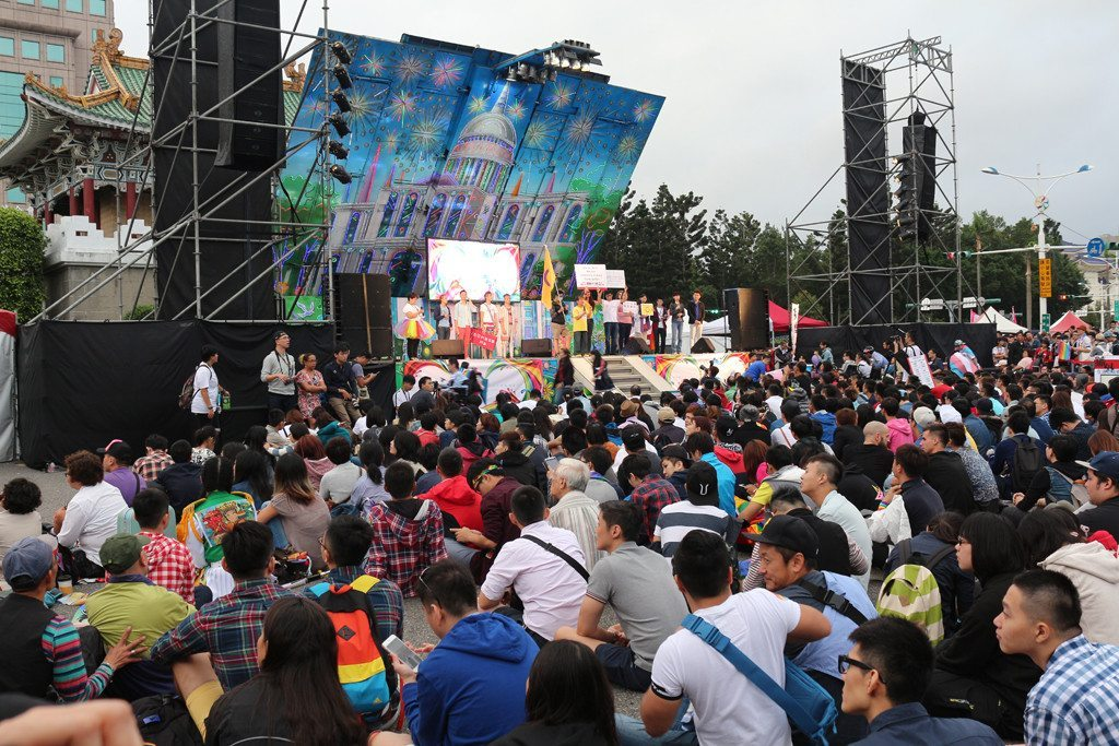 taiwan lgbt pride stage
