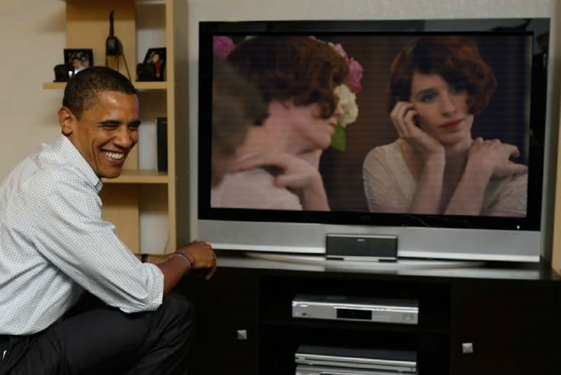 Obama-Danish-Girl