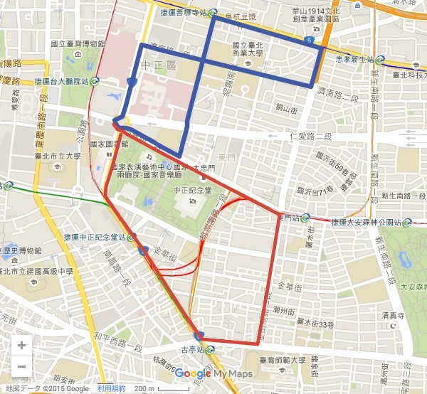 taiwan lgbt pride route map