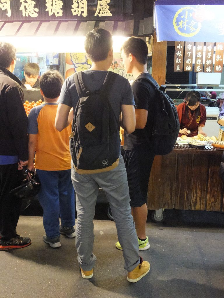taiwan night market gay friends