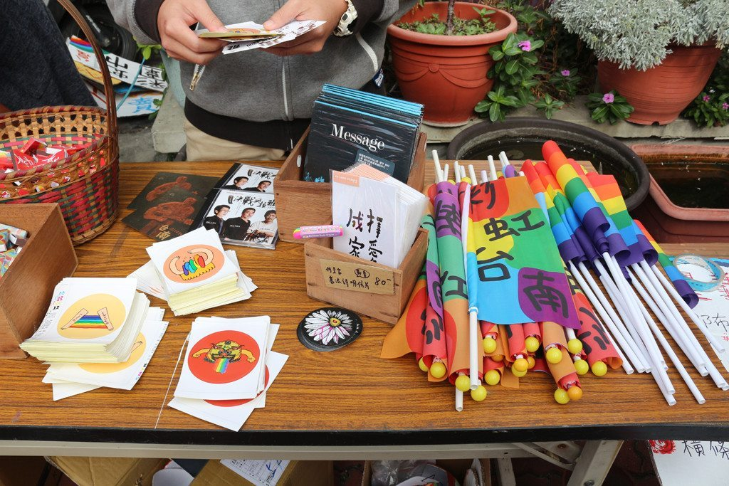 tainan LGBT pride original items