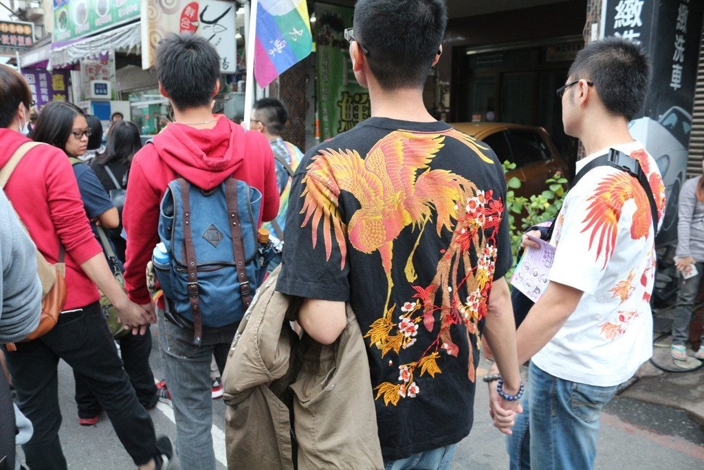 tainan LGBT pride gay couples