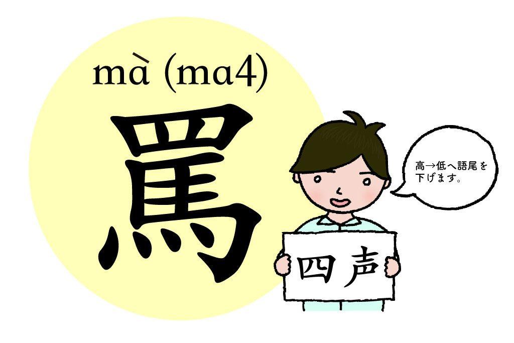 chinese tone4