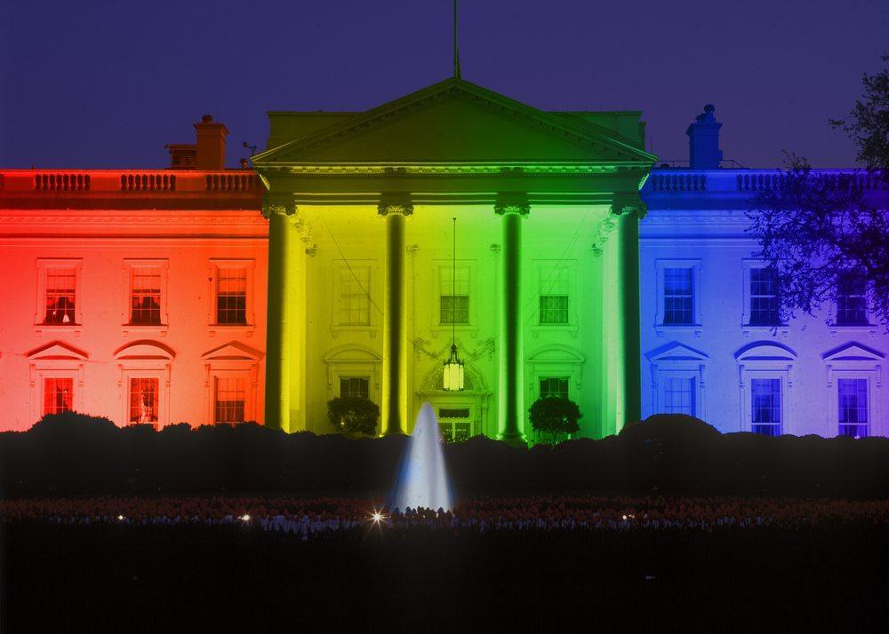 whitehouse rainbow