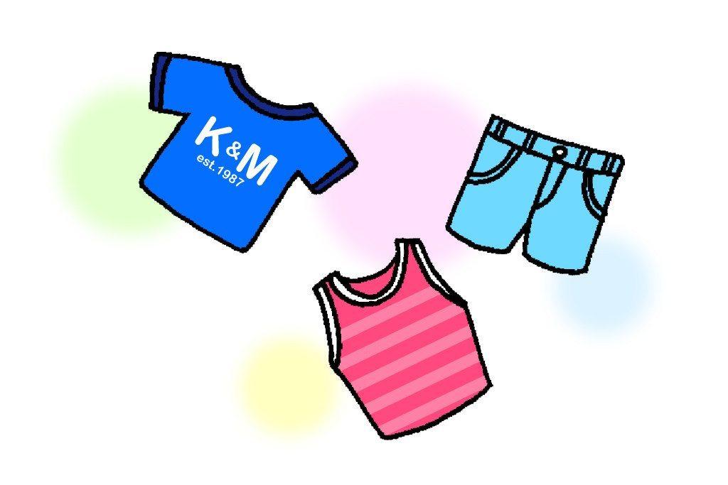 vivid clothes