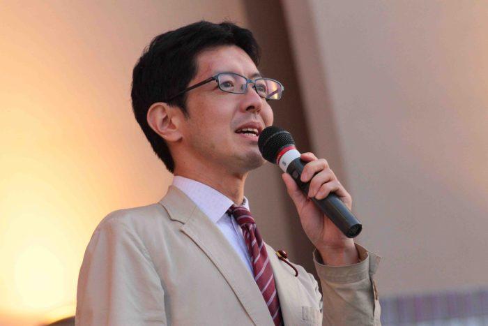 石坂わたる 中野区議会議員 撮影:toboji