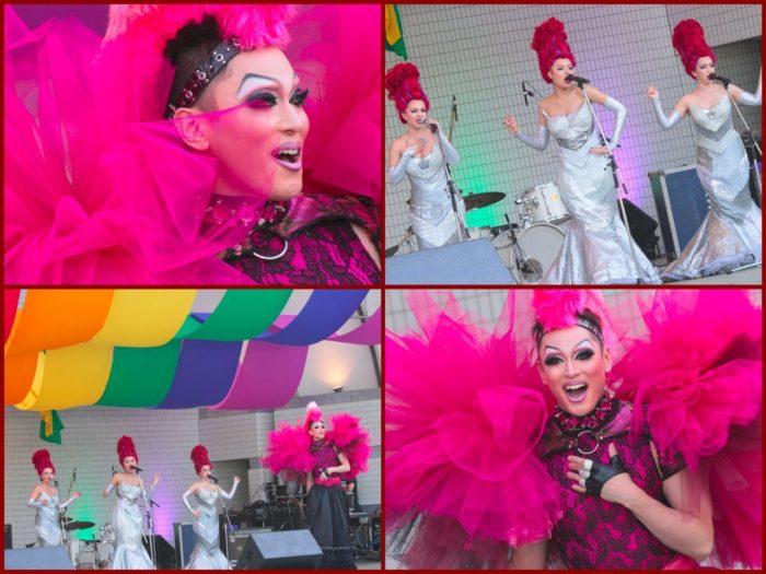 「PRISCILLA プリシラ」のキャストが5月7日(土)FESTAのステージに登場。作中のナンバーを披露しました。 撮影:toboji
