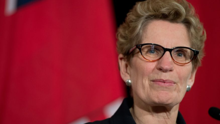 オンタリオ州首相キャスリーン・ウィン氏 画像引用元http://www.truthrevolt.org/news/openly-lesbian-ontario-premier-accuses-sex-ed-opponent-being-homophobic