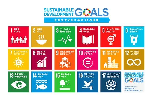 SDGsの17の開発目標のアイコン。私たちは特に10番が関わってきます。