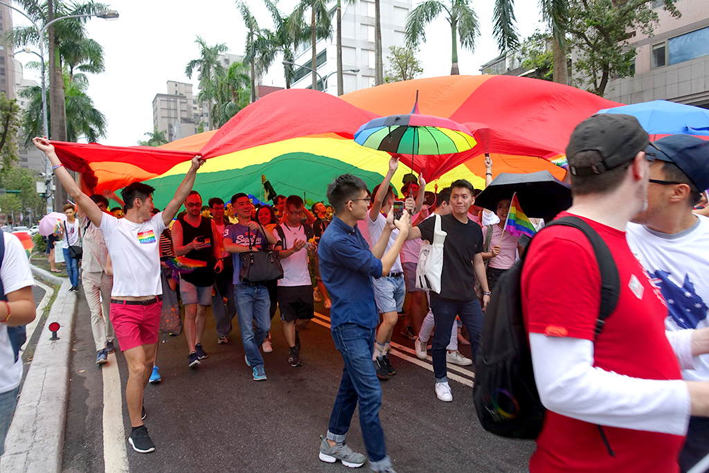 台灣同志遊行2016