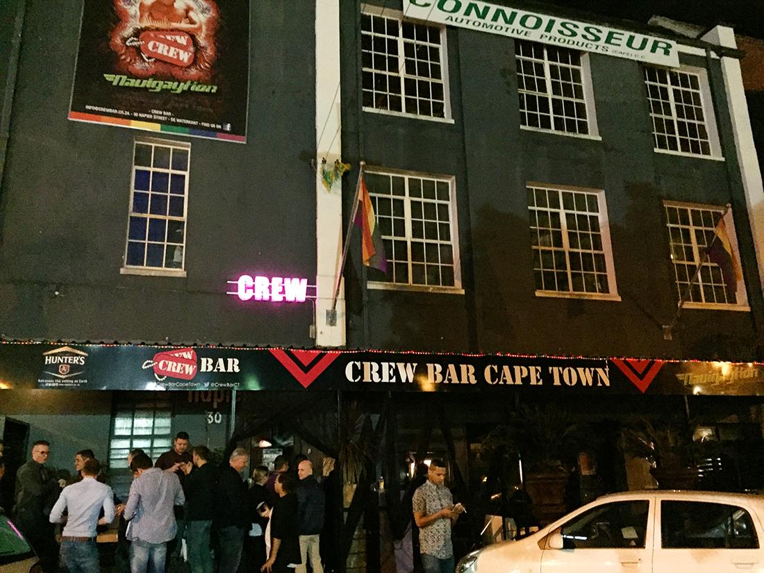 ケープタウンのゲイバーcrew bar