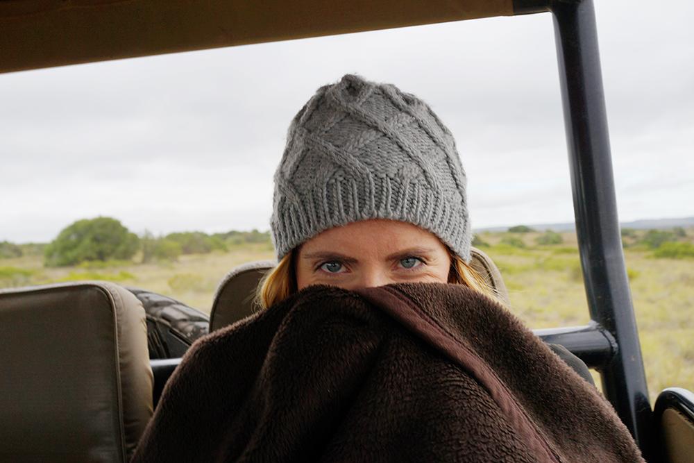 アフリカ サファリ 寒い