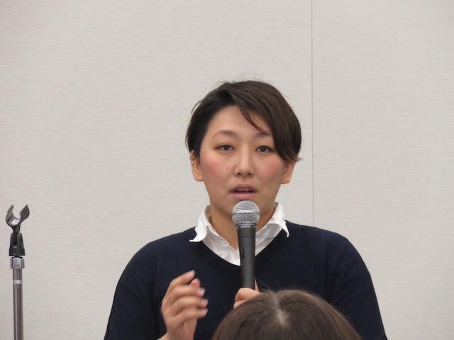 室井舞花氏(教科書にLGBTを!ネットワーク)