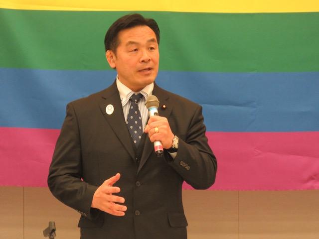 馳浩 衆議院議員(自民党)LGBTに関する課題を考える議員連盟 会長