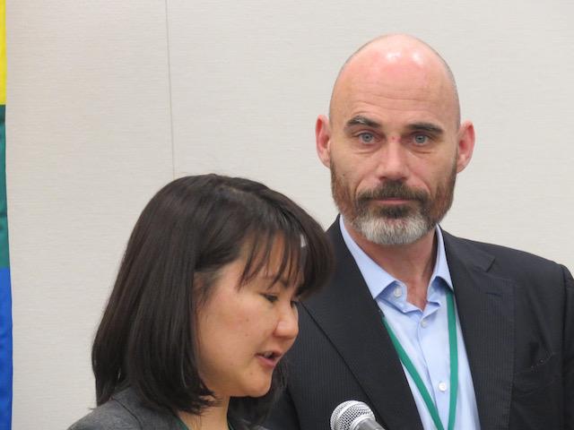 クン・ヴァンダイク氏(オランダのLGBT人権団体COC会長)