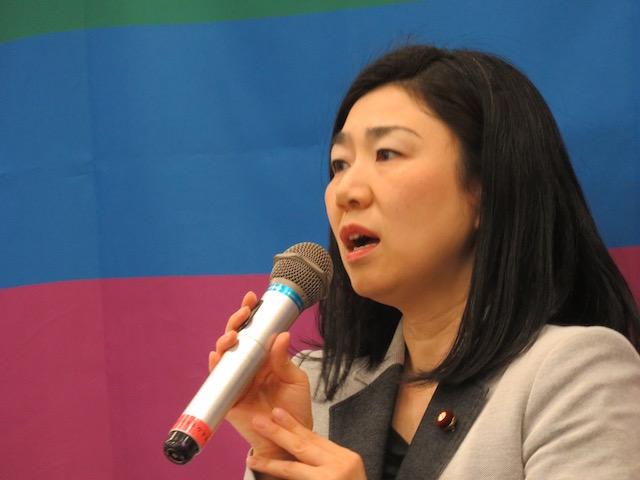 牧島かれん 衆議院議員(自民党)LGBTに関する課題を考える議員連盟 事務局次長
