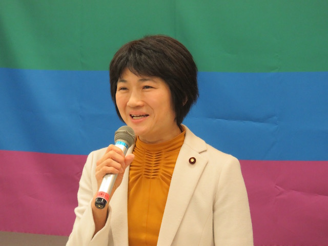 西村智奈美 衆議院議員(民進党)