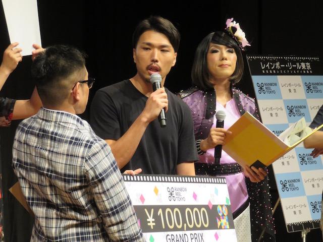 レインボー・リール・コンペティション2017 観客投票でグランプリに選ばれた「カランコエの花」の中川駿監督