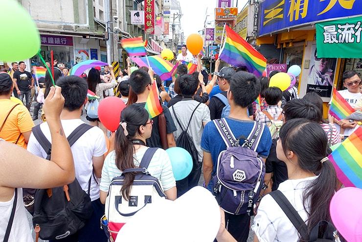 2016花蓮彩虹嘉年華のパレード