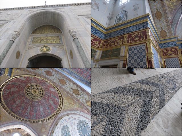 オスマントルコ帝国の栄華を実感できるトプカピ宮殿。男子禁制だったハーレムも見学できます。