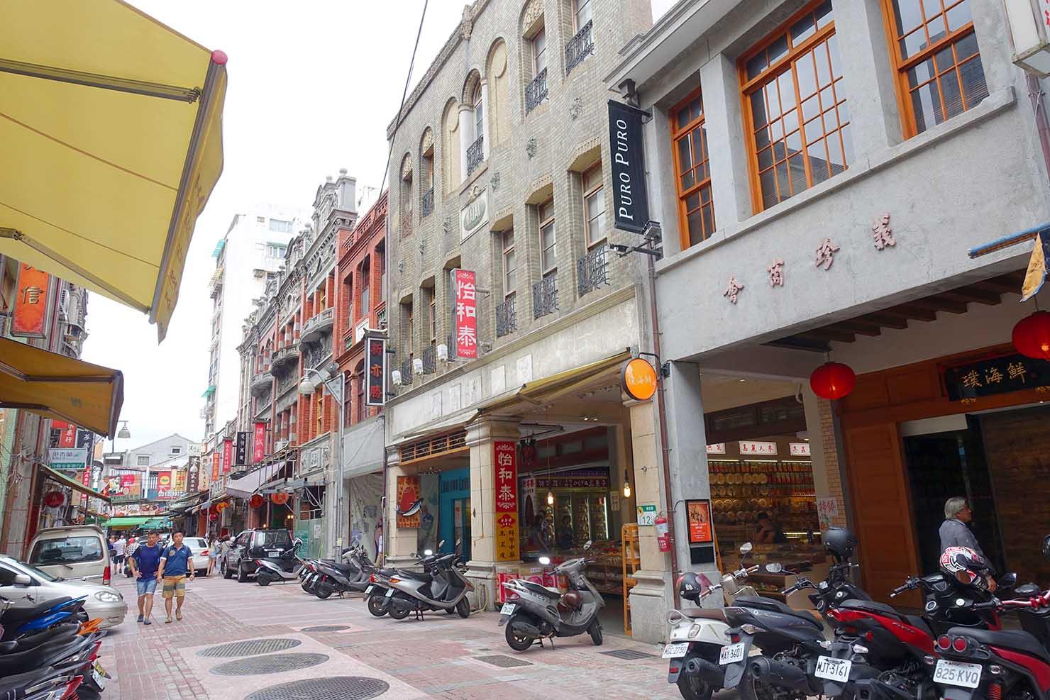 台北の人気観光スポット・迪化街(撮影:Kazuki Mae)