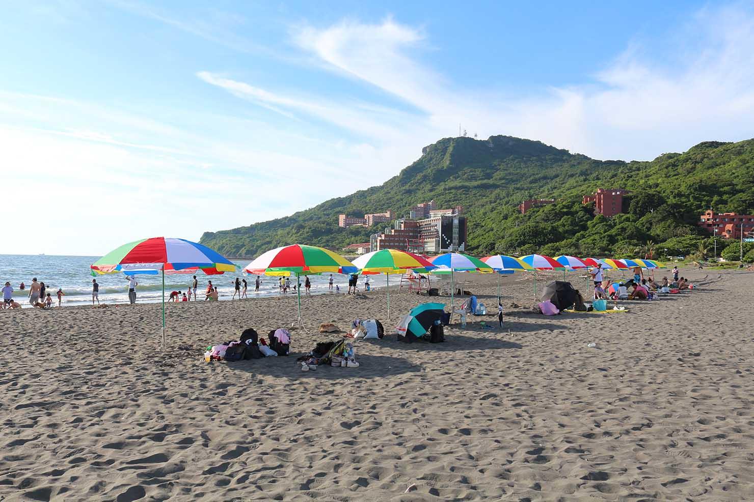 台湾・高雄の西子灣エリアにあるビーチ