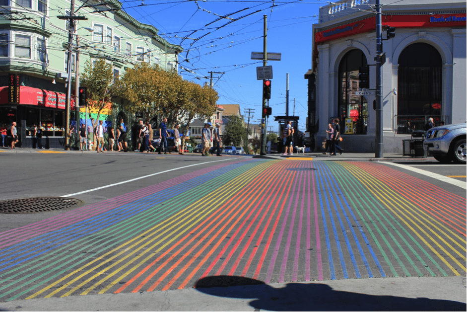 castro rainbow street